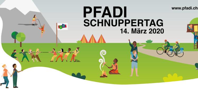 ABGESAGT: Pfadi-Schnuppertag am 14. März 2020