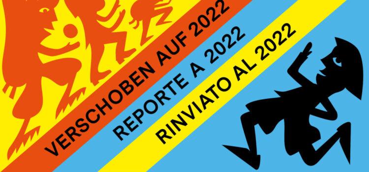 Bundeslager ins 2022 verschoben